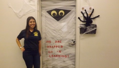 Students are wrapped up in spooky education