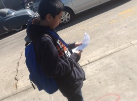 Anthony Ayala is studying for the mid-term.  He is reviewing his Study Guide to pass the test