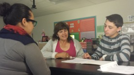 Students have second student-led parent conference