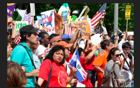 How do people react to President Barack Obama's executive actions on immigration?