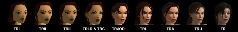 This is Tomb Raiders main character. She has changed over the years.