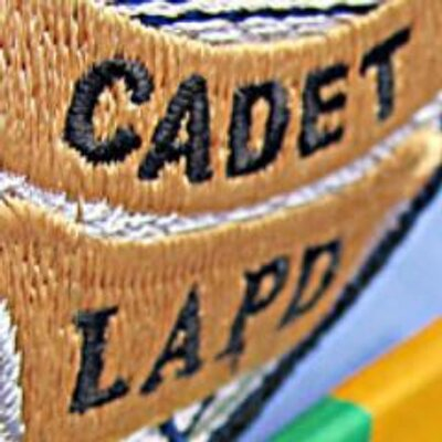 A badge sign of Cadet LAPD.