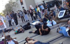 Protest on police brutality