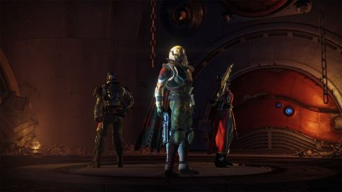 This is the opening cinematic for the prison of elders. Taken from the Destinygame.com