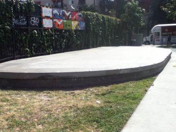 Jazz Park Skate Stage