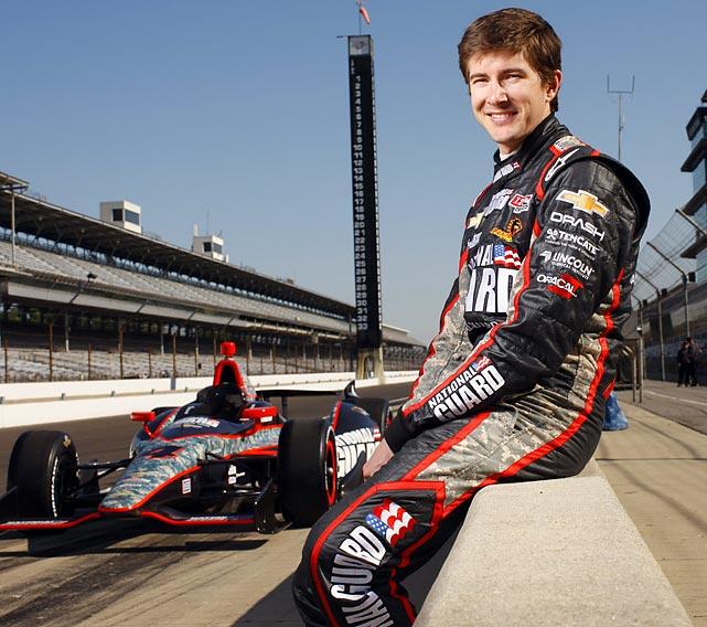 J. R Hildebrand, IndyCar racer
