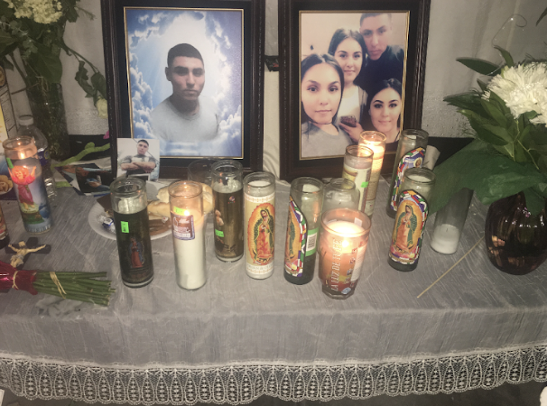 +A+picture+of+a+ofrenda+for+Jerry+Castro+as+his+family+mourned+while+doing+the+ten+days+of+prayer.+
