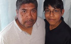 My father, Juan Lopez, and Josue.