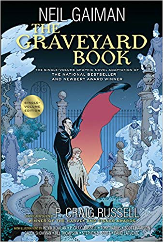 The Graveyard Book spooks everybody