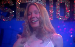 Sissy Spacek, as Carrie, in the movie adaptation.