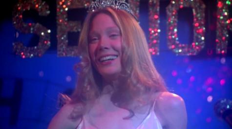 Sissy Spacek, as Carrie, in the movie adaptation.