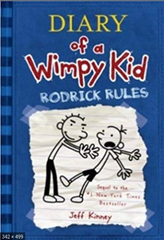 Diary Of A Wimpy Kid is a good book for kids!