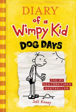Dog Days, By Jeff Kinney.