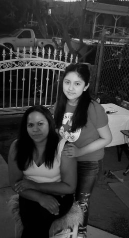 In the picture me and my mom Isabel are together.
