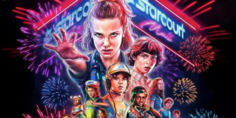 Here is an image of Stranger Things season 3!
