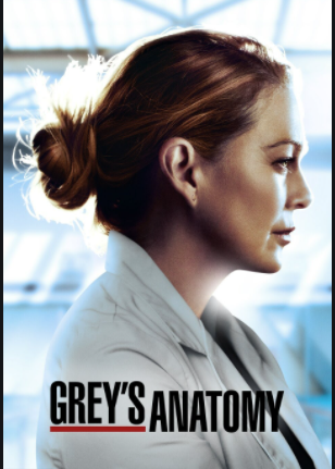 This picture shows the main character Meredith Grey. This picture was used for a new season that was coming out.
