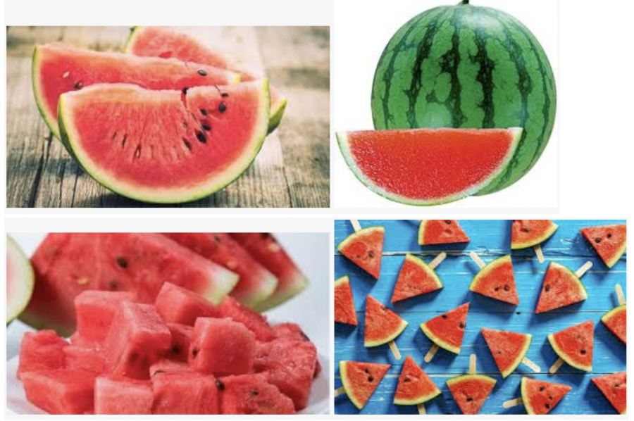 Watermelons are healthy and delicious