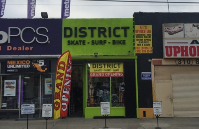 Visit the District Skate Shop