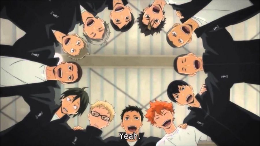 Karasuno's high school team