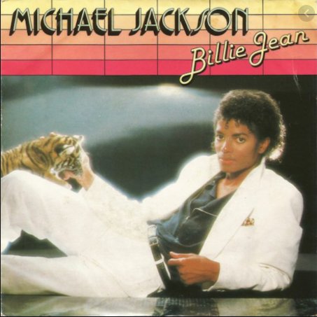 Cover art from Micheal Jackson's single