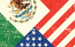 This is an image of the United States and a flag of Mexico together. Since we are comparing then I decided to insert it.