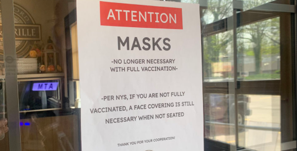 Masks are required unless you are fully vaccinated.