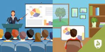 Distance learning vs in-person learning