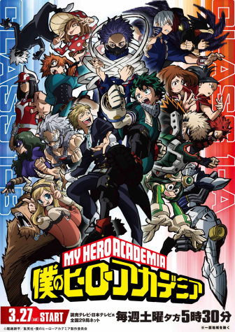 This the official poster for the 5th and newest season