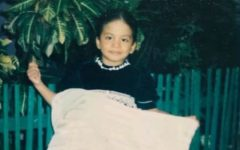 Maria when she was little.